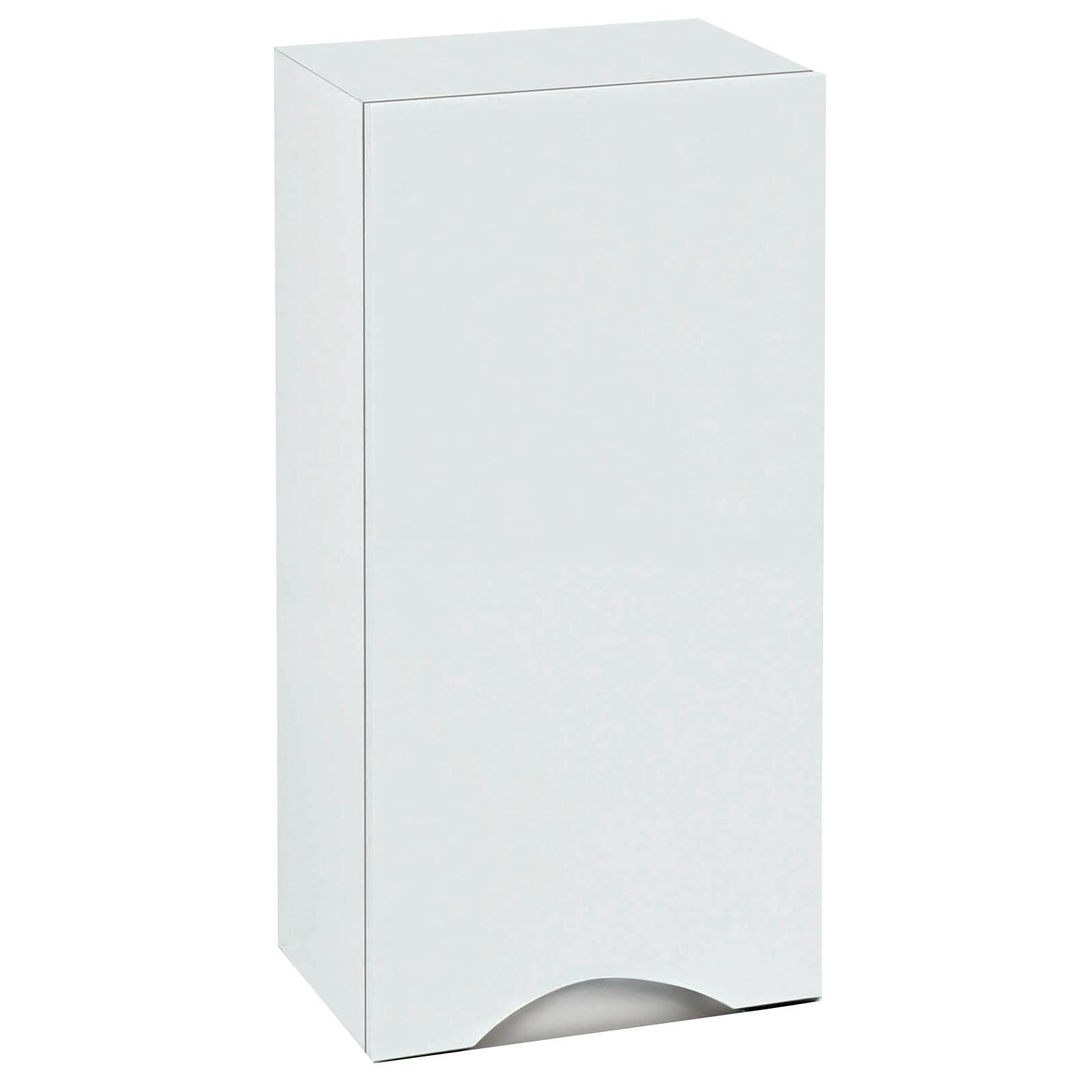 phoenix bathrooms 35 wall mounted storage unit white. Black Bedroom Furniture Sets. Home Design Ideas